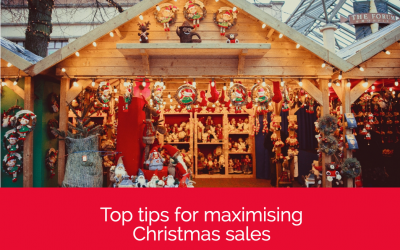 Top tips for maximising Christmas sales