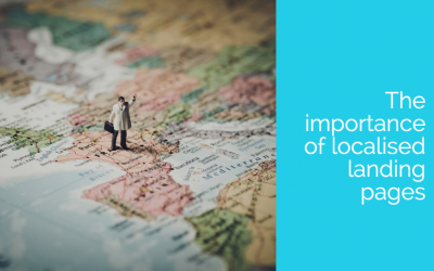 The importance of localised landing pages