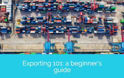 Exporting 101: a beginner's guide