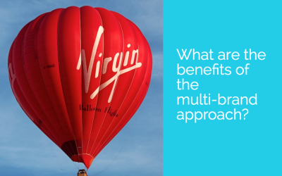 What are the benefits of the multi-brand approach?