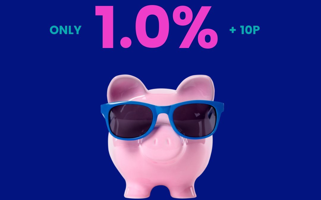 New 1.0% + 10p rate for everyone